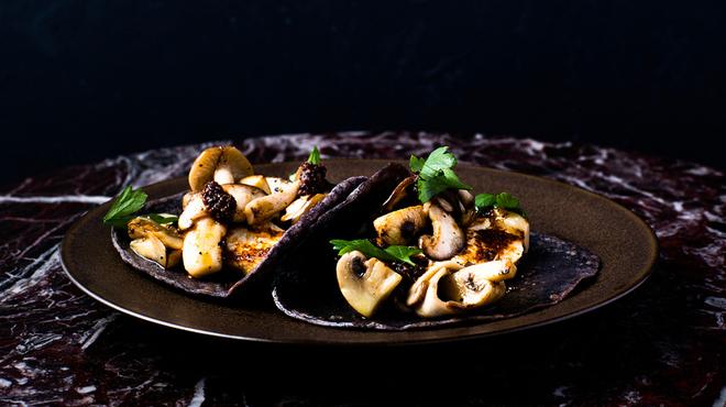PIOPIKO - 料理写真:秋キノコのタコス※こちらは季節によって提供される内容・料金が変わります。