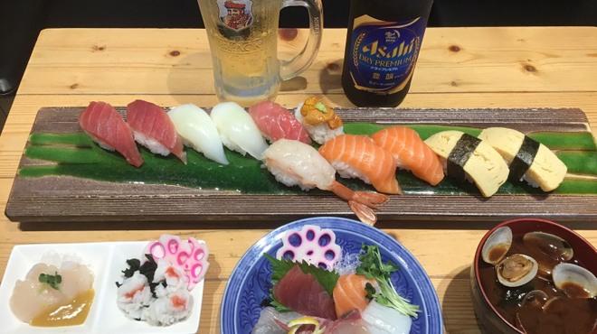 ときすし - 料理写真:大阪府少人数利用飲食店応援キャンペーンコース
