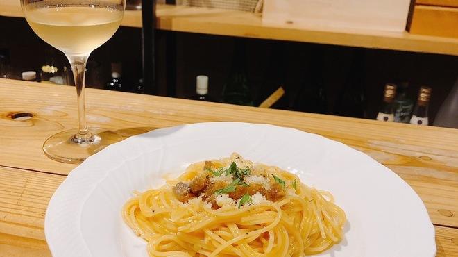 葡萄酒屋イータ - 料理写真:濃厚カルボナーラ