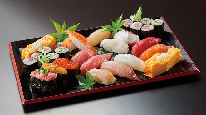 海山亭いっちょう - 料理写真:種類豊富な寿司 1貫からご注文できます