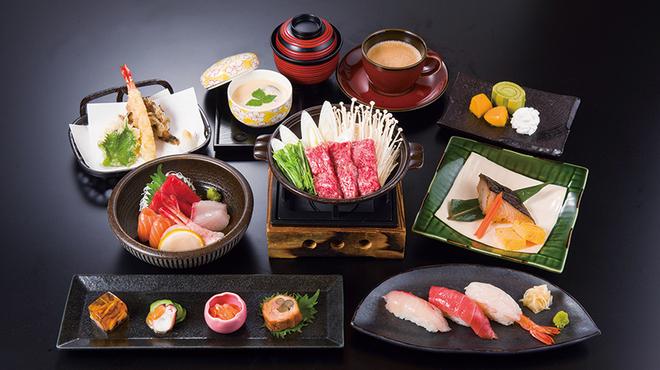 海山亭いっちょう - 料理写真:懐石料理「輝」5000円+税