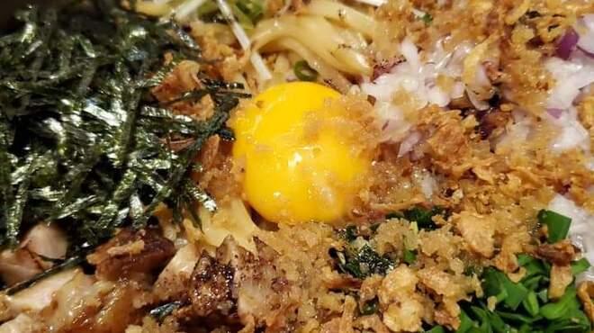 麺匠 藩次郎 - 料理写真:醤油まぜそば