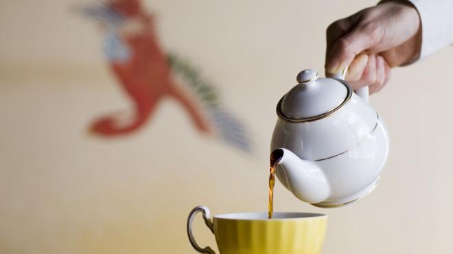 ラウンジ kinkei - ドリンク写真:オリジナル紅茶「キンケイブレンドティー」