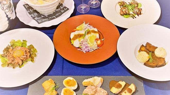 麺バル RIKI - 料理写真:牛タンづくしコース