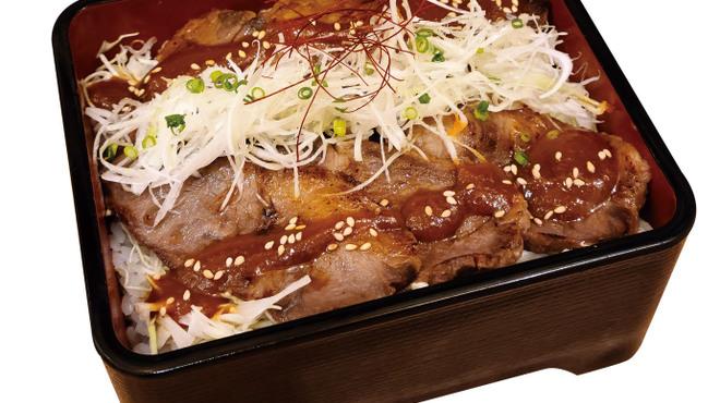 牛たん炭焼利久 - 料理写真:味噌漬け重と牛たん焼定食