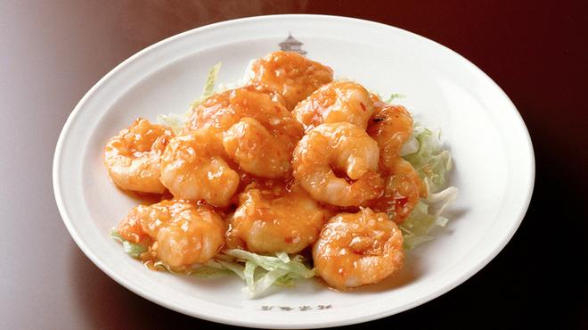 横浜中華街 北京飯店 - 料理写真:エビのチリソース