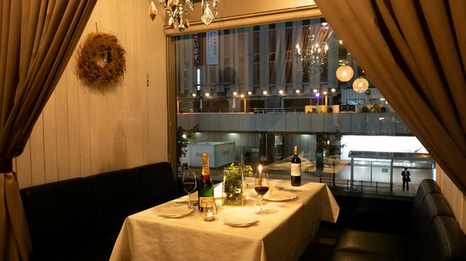 創作イタリアン LA CASA BLANCA(【旧店名】ボナパルト) - さっぽろ(札幌市営)(イタリアン)の写真4
