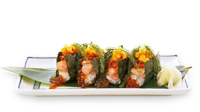 磯丸水産 - 料理写真:一口贅沢こぼれ寿司