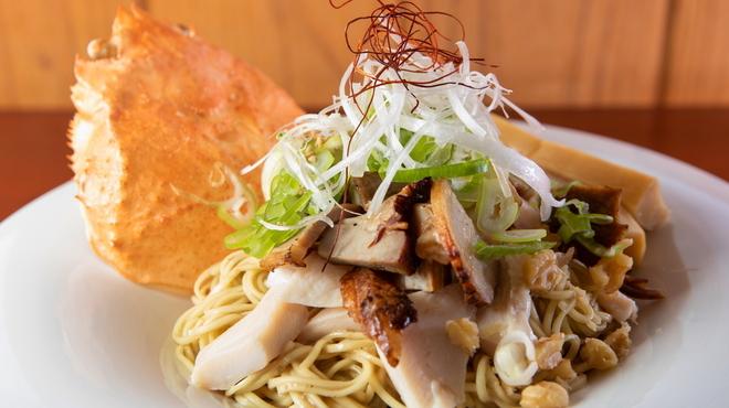 麺房 昭和呈 - 料理写真:ずわい蟹まぶし麺