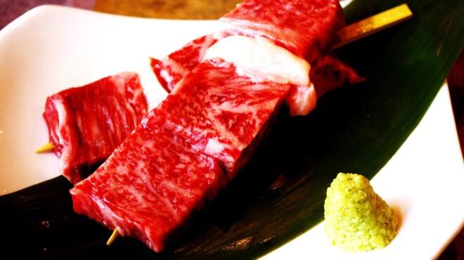 串焼き もんじろう - 料理写真:黒毛和牛サーロイン