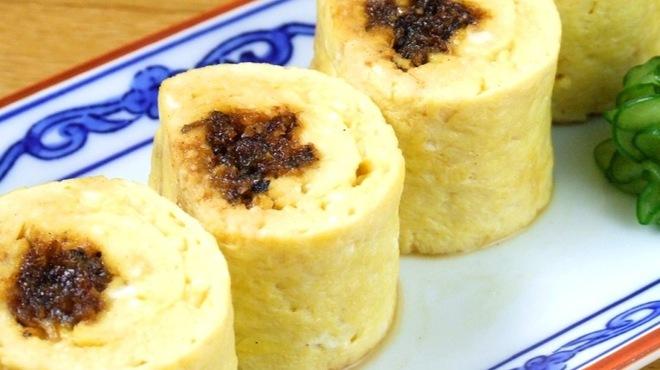 ひつまぶし名古屋 備長 - 料理写真:ふわトロな出汁き卵で鰻を巻き上げた『う巻き』