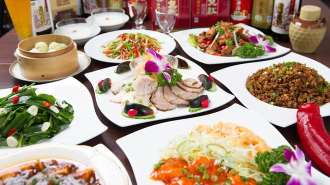 香南厨房 - 料理写真:3480円のコースは料理全9品