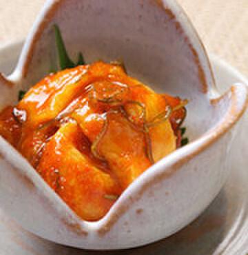 笹鮨 - 料理写真:自家製ホヤキムチ!絶品です。
