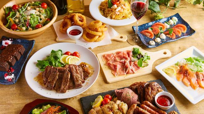 全220種類食べ飲み放題 チーズと肉バル デリカ 札幌店 - さっぽろ(札幌市営)(居酒屋)の写真2