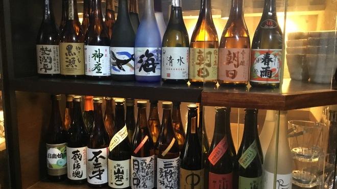 清水 KAKUREGA - ドリンク写真:各種焼酎揃えています!