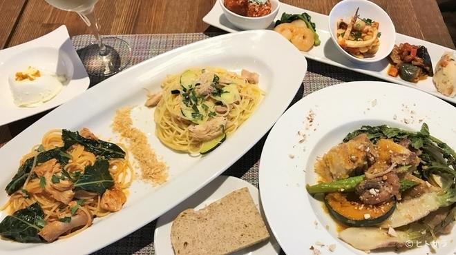 taverna TAKEDA - 料理写真:本場シチリアの多彩な味わいを気軽に楽しめる『ランチコース』※要予約※