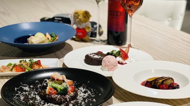 Audi Delight Cafe - 料理写真:2021いちごフルコース