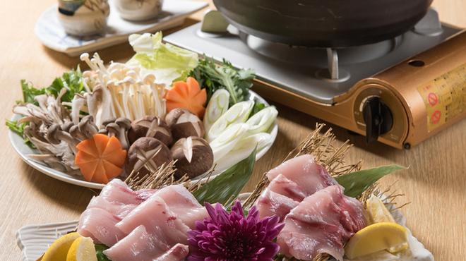 越中舞華 - 料理写真:ブリしゃぶ
