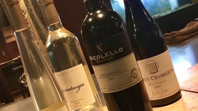 パンドラ - ドリンク写真:厳選された希少ワイン