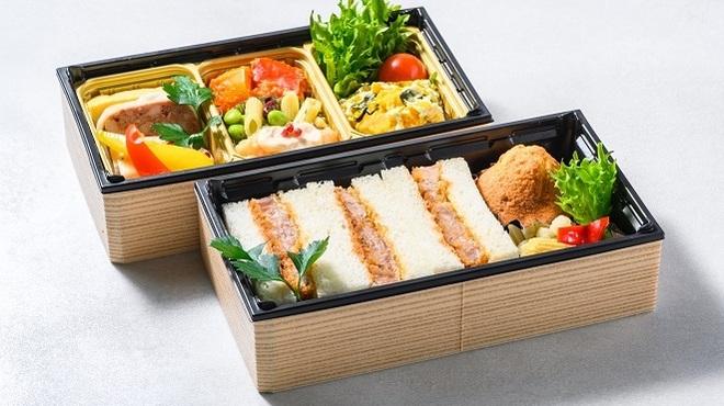 レストラン シズル - 料理写真:麦豚カツサンドセット(テイクアウトメニュー)
