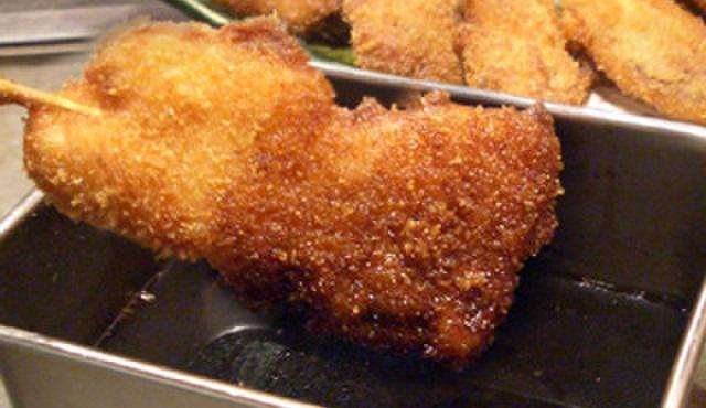 福えびす - 料理写真:ソースの2度漬けはあかんよ!!