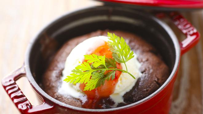 ココット - 料理写真:フォンダンショコラ