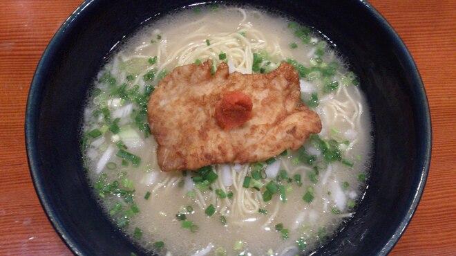 鳥料理 有明 - 料理写真:歴代ラーメン王絶賛!昼限定 軍鶏水炊きらーめん