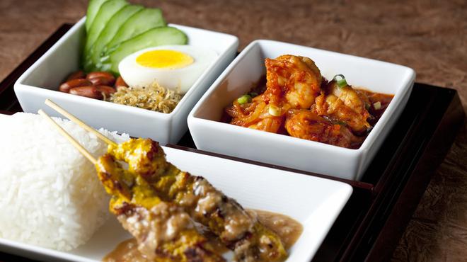 ザ・ロビーラウンジ - 料理写真:アジアの香りが息づく、本格的なマレーシア料理。