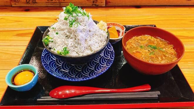 魚のてっぺん - 料理写真:釡揚げしらす丼