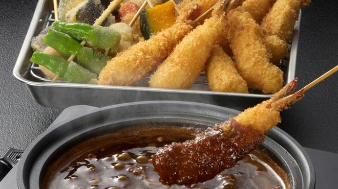 海老どて食堂 - 料理写真:海老どて黒.