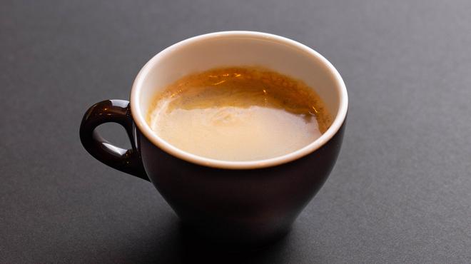 ハワイ カウコーヒー - ドリンク写真:100%カウコーヒー(exファンシー)機械ドリップ