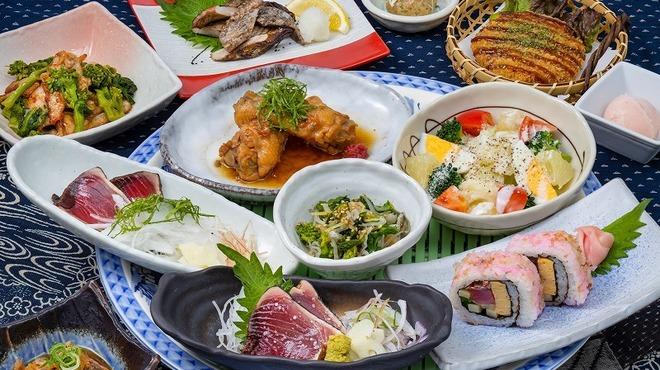 藁焼き鰹たたき明神丸 - 料理写真: