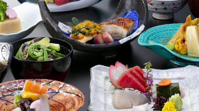 日本料理・鉄板焼 はや瀬 - 料理写真:4月摘草会席