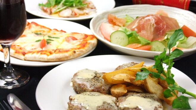 IRIS - 料理写真:4000円コース料理(2時間飲み放題付き)