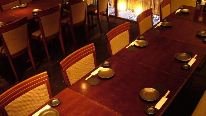 むく - 内観写真:4〜20名様用の宴会席。