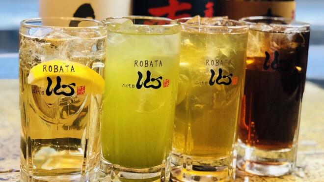 ROBATA 二代目 心 - ドリンク写真:ハイボール、お茶割り