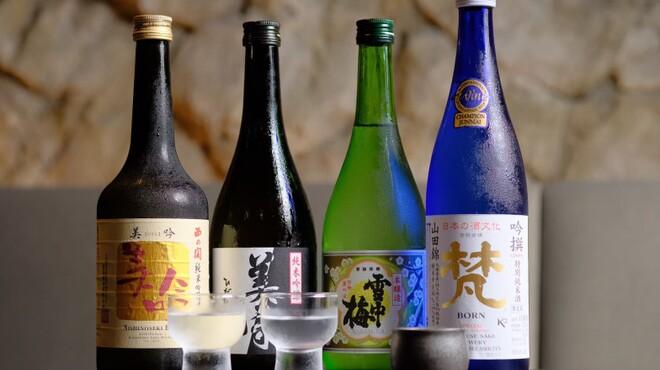 焼肉 だん - ドリンク写真:日本酒