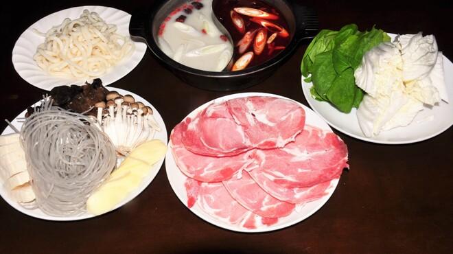 青空 - 料理写真:蒙古火鍋