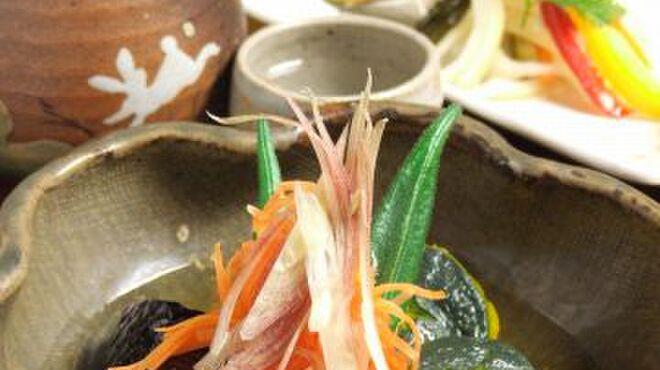 創作和風料理 荻窪 卯 - 料理写真:《夏の一品》 茄子、南瓜など夏野菜の煮物