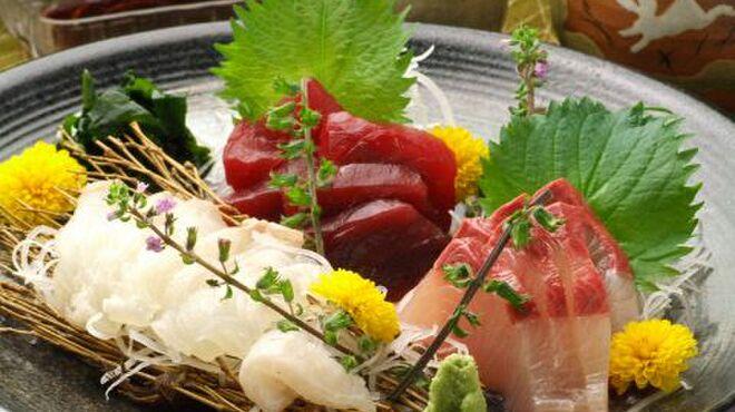 創作和風料理 荻窪 卯 - 料理写真:《お造り》 三崎港から直送する旬の魚を、一番美味しい状態で提供いたします。