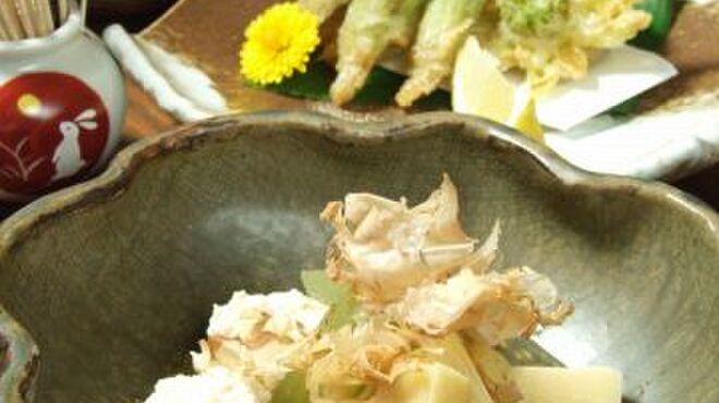 創作和風料理 荻窪 卯 - 料理写真:《春に向けた一品》 ふきのとうの天ぷらや、たけのこの煮物
