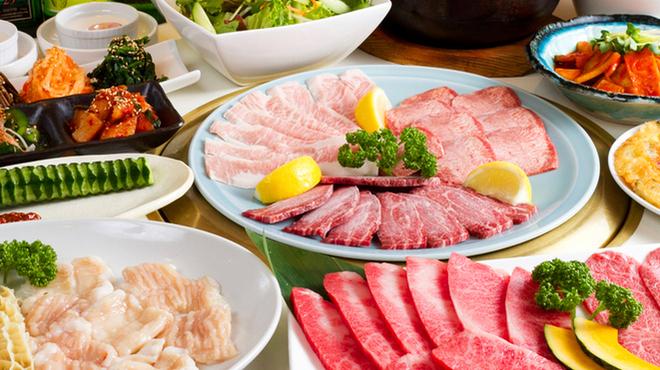 焼肉ケナリ - 料理写真:コース