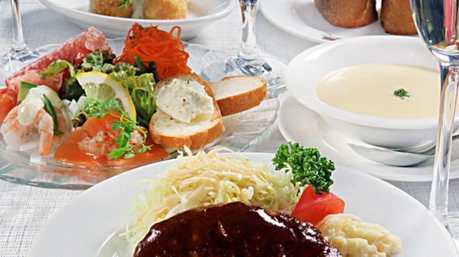 キッチンミルポワ - 国際センター(洋食)の写真1