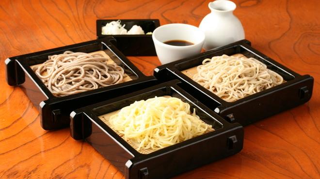 神田 味喜庵 - 料理写真:自家製粉の手打ち蕎麦