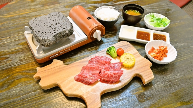 肉食家さんのハンバーグ にくきゅうグリル - メイン写真: