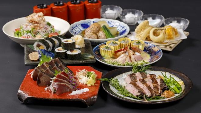 わらやき屋 - 料理写真:初夏鳴子コース