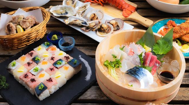 魚卵と東北のお魚バル 魚徳 - メイン写真: