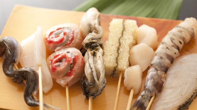 大阪串かつ テンテコマイ - 料理写真:串食材
