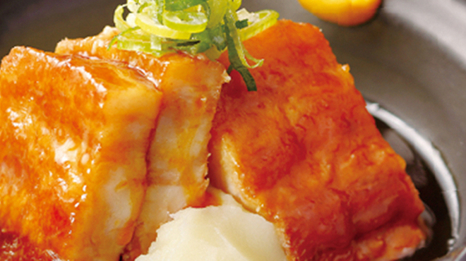 サンタモニカの風 - 料理写真:7月<和>豚の角煮 じゃがいもの餡掛け