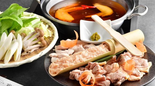 すき焼き・しゃぶしゃぶ処 安芸亭 - 料理写真:長州鶏和風醬油鍋
